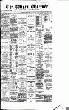 Wigan Observer and District Advertiser Wednesday 22 April 1885 Page 1