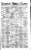Hampstead & Highgate Express Saturday 29 October 1887 Page 1