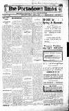 Portadown Times Friday 27 April 1923 Page 1