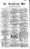 Knaresborough Post Saturday 22 July 1871 Page 1