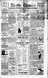 Alcester Chronicle Saturday 19 February 1910 Page 1