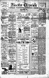 Alcester Chronicle Saturday 19 March 1910 Page 1