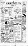 Alcester Chronicle Saturday 23 July 1910 Page 1