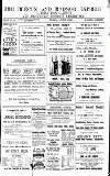 Brecon and Radnor Express and Carmarthen Gazette Thursday 25 November 1897 Page 1