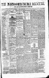 Cambrian News Saturday 14 March 1863 Page 1