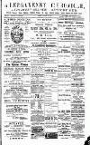 Abergavenny Chronicle Friday 19 October 1900 Page 1