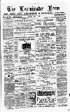 Leominster News and North West Herefordshire & Radnorshire Advertiser Friday 02 May 1884 Page 1