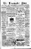 Leominster News and North West Herefordshire & Radnorshire Advertiser Friday 09 May 1884 Page 1