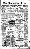 Leominster News and North West Herefordshire & Radnorshire Advertiser Friday 23 May 1884 Page 1