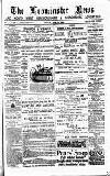 Leominster News and North West Herefordshire & Radnorshire Advertiser Friday 30 May 1884 Page 1
