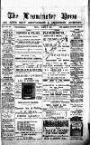 Leominster News and North West Herefordshire & Radnorshire Advertiser Friday 06 March 1885 Page 1
