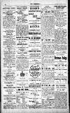 Croydon Chronicle and East Surrey Advertiser Saturday 08 January 1910 Page 12