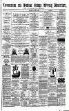 Todmorden Advertiser and Hebden Bridge Newsletter Saturday 08 April 1865 Page 1