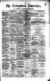 Todmorden Advertiser and Hebden Bridge Newsletter Friday 06 March 1891 Page 1
