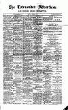 Todmorden Advertiser and Hebden Bridge Newsletter Friday 13 March 1891 Page 1