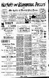 H. CLARKE CAB PROPRIETOR E GERTON MEWS, CORNER DOBBTOR AOAD , LLL 011.1)172. Anima To
