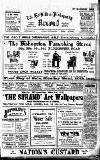Horfield and Bishopston Record and Montepelier & District Free Press Saturday 08 January 1916 Page 1