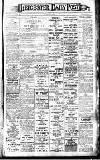 Leicester Daily Post Saturday 21 January 1911 Page 1