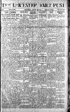 Leicester Daily Post Wednesday 08 January 1919 Page 1