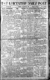 Leicester Daily Post Monday 13 January 1919 Page 1