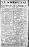 Leicester Daily Post Saturday 31 May 1919 Page 1