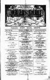 Clifton Society Thursday 01 November 1894 Page 1