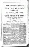 Clifton Society