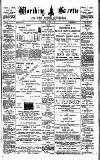 Worthing Gazette Wednesday 15 October 1902 Page 1