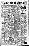 Worthing Gazette Wednesday 15 February 1950 Page 1