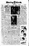 Worthing Gazette Wednesday 27 January 1960 Page 1