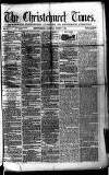 Christchurch Times Saturday 07 August 1869 Page 1