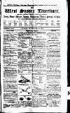 West Sussex Gazette Thursday 01 September 1853 Page 1