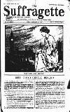 The Suffragette Friday 24 January 1913 Page 1