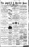 Ampthill & District News Saturday 23 July 1892 Page 1