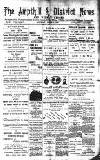 Ampthill & District News Saturday 06 August 1892 Page 1