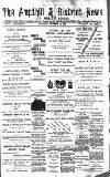 Ampthill & District News Saturday 24 September 1892 Page 1