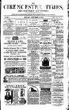 Cirencester Times and Cotswold Advertiser Monday 25 September 1871 Page 1