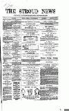 Stroud News and Gloucestershire Advertiser Tuesday 26 January 1869 Page 1