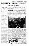 Woman's Dreadnought Saturday 13 June 1914 Page 1