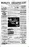 Woman's Dreadnought Saturday 10 October 1914 Page 1
