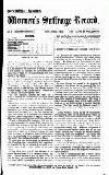 Women's Suffrage Record