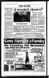 Uxbridge & W. Drayton Gazette Wednesday 06 December 1989 Page 14