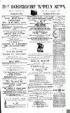 Oxfordshire Weekly News Wednesday 14 March 1877 Page 1
