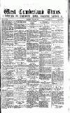 West Cumberland Times Saturday 18 April 1874 Page 1