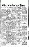 West Cumberland Times Saturday 30 May 1874 Page 1