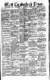 West Cumberland Times Saturday 05 September 1874 Page 1