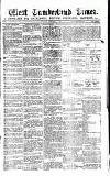 West Cumberland Times Saturday 14 November 1874 Page 1