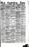 West Cumberland Times Saturday 24 April 1875 Page 1