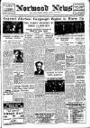 Norwood News Friday 15 June 1945 Page 1