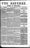 The Referee Sunday 16 September 1877 Page 1